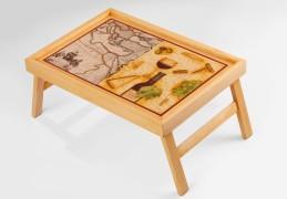 Столик из бамбука