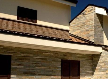 Отделка фасадов окон частного дома